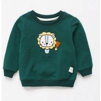 Baby/ Toddler's Lion Pattern Pullover