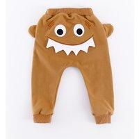 Fun Crocodile Applique Pants for Baby