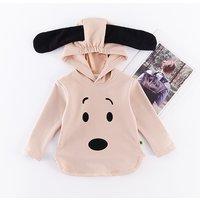Lovely Dog Design Hooded Pullover for Baby