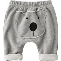 Cute Bear Applique Pants for Baby