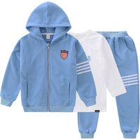 3-piece Sweatshirt, Hooded Jacket and Pants Set for Kid