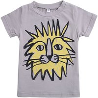 Fun Lion Print T-shirt for Baby and Toddler Boy