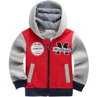Handsome Sporty Hooded Top for Baby Boy/Boy