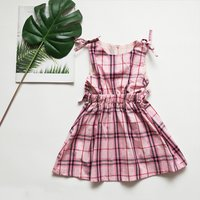 Baby / Girl Plaid Cinched Bow Dress