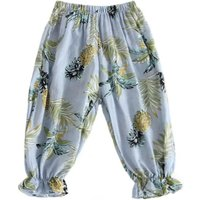 Comfy Pineapple Pattern Bloomers for Toddler Girl