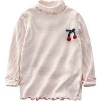 Casual Striped Long-sleeve Top for Baby and Kid