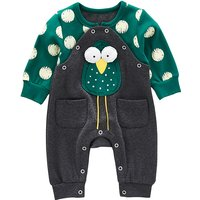 Cute Owl Applique Long-sleeve Jumpsuit for Baby