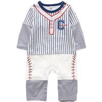 Stylish Faux-2 Striped Jumpsuit for Baby Boy