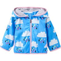 Beautiful Zip-up Hooded Cloud Jacket for Baby and Toddler Girl