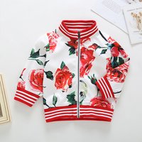 Stylish Floral Long-sleeve Jacket