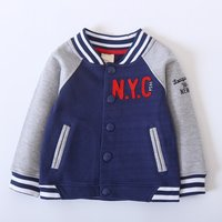 NYC Stripes Cuff Sporty Coat for Baby and Toddler
