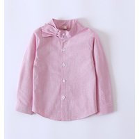Stylish Solid Stripes Long-sleeve Shirt for Baby Gir and Girl