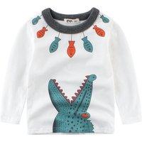 Boy's Cool Crocodile Long Sleeve T-shirt