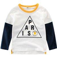 "Trendy ""PARIS"" Print T-shirt for Toddler Boy/Boy"