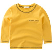 Trendy Letter Printed Long Sleeve Top for Toddler Boys And Boys