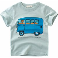 Lovely Bus print T-shirt