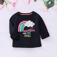 Baby and Toddler's Rainbow Pullover