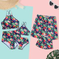 Summer Floral Family Swimsuits