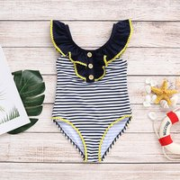 Baby/Toddler Girl's Stripe Swimwear