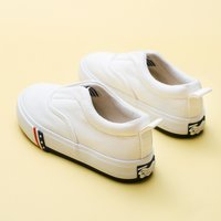 Fashionable Solid Slip-on Canvas Shoes for Toddler and Kid