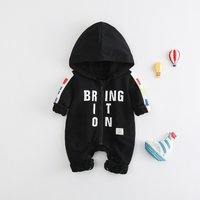 Baby BRING OT ON National Flags World Cup Hooded Jumpsuit