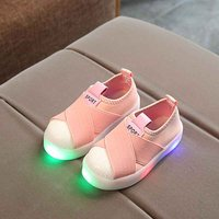 Stylish LED Light-up Sneakers for Kids