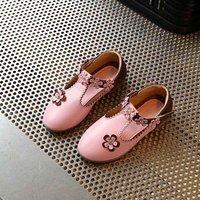 Elegant Appliqued Flower Shoes for Girl
