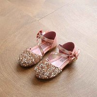 Pretty Glitter Sequin Flats for Toddler Girl and Girl