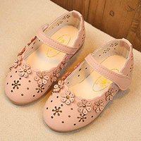 Beautiful 3D Flower Appliqued Velcro Shoes for Baby and Toddlers