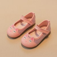 Cute Cat Design Flats for Toddler Girl and Girl