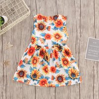 Baby and Toddler Sunflower Belted Dress