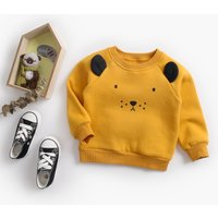 Super Lovely Lion Design Long-sleeve Top for Baby