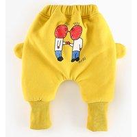Cute Baby's Cartoon PP Pants