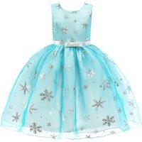 Fashionable Gilding Snowflake Tulle Halloween Dress