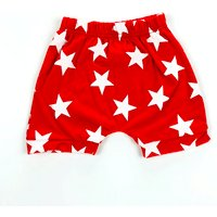 Comfy Star Print Shorts for Baby and Toddler