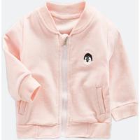 Cute Penguin Panda Applique Sporty Coat for Baby