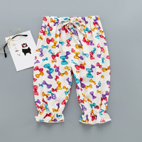 Beautiful Bow Pattern Bloomers for Toddler Girl