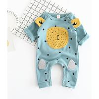 Lovely Bear Ear Decor Long Sleeves Jumpsuit for Baby Boy