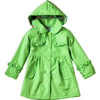 Lovely Hooded Waterproof Jacket for Girl