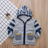 Adorable Tiger Hooded Coat for Baby and Toddler Boys