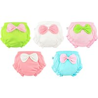 Sweet Bow Detail Shorts for Baby and Toddler Girl