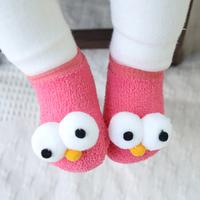Cute 3D Big Eyes Design Socks for Baby