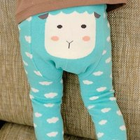 Cute Animal Print Leggings for Baby Girl
