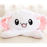 Creative Cute Rabbit Design Earmuffs Hat with Long Movable Ears