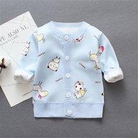 Baby's Animal Pattern Cardigan