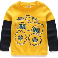 SUV Cotton Long-Sleeve Tee / Top for Baby & Boys