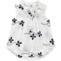 Beautiful Floral Front Buttons Top for Girls