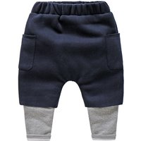 Comfy Faux 2-piece Pocket Pants for Boy