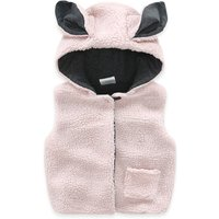 Baby Adorable Bunny Fleece Hooded Vest