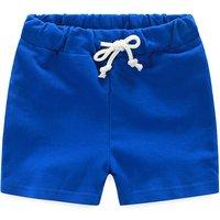 Sporty Drawstring Waist Shorts for Kid